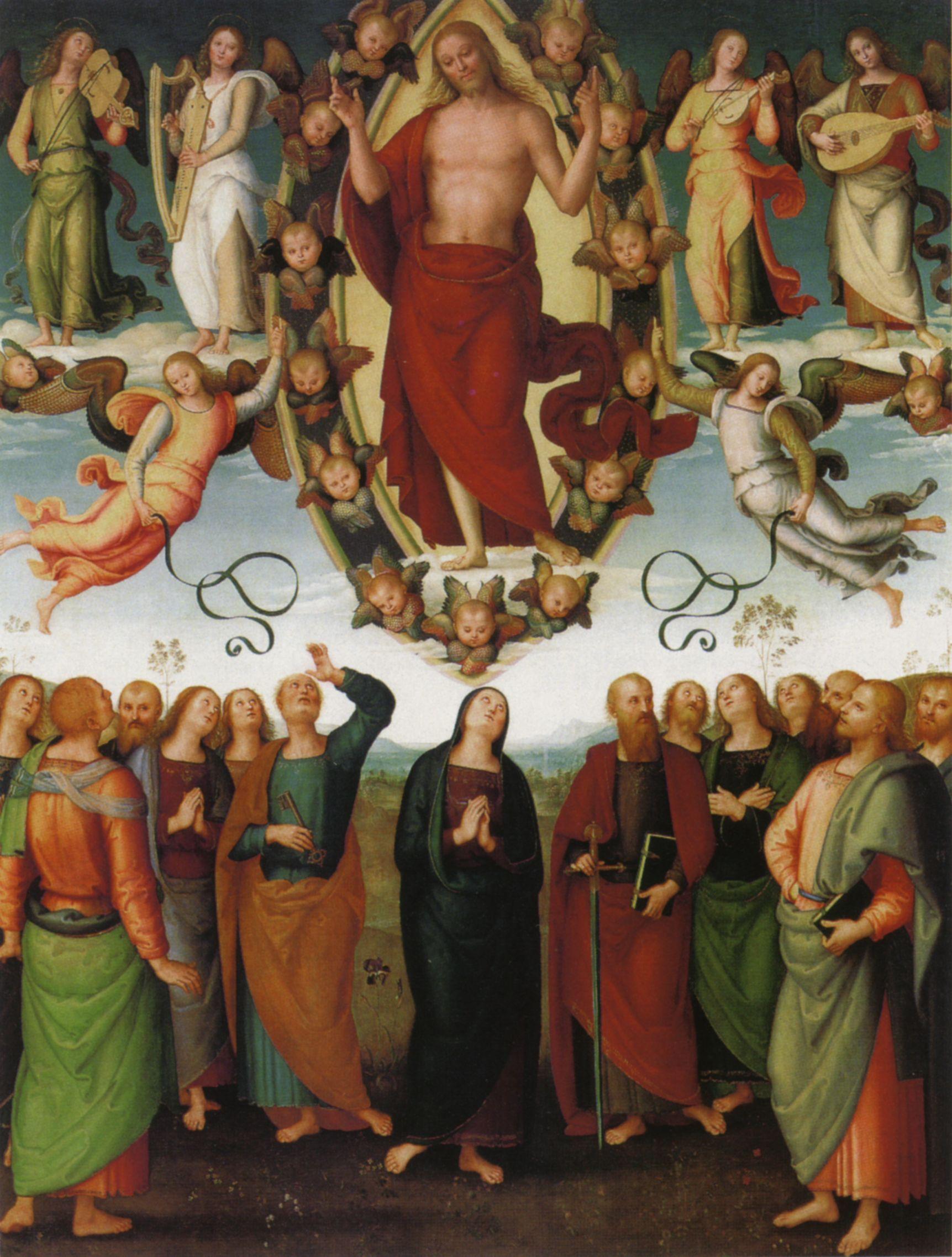 Risultati immagini per Ascendendo in cielo, Cristo ha distribuito doni agli uomini