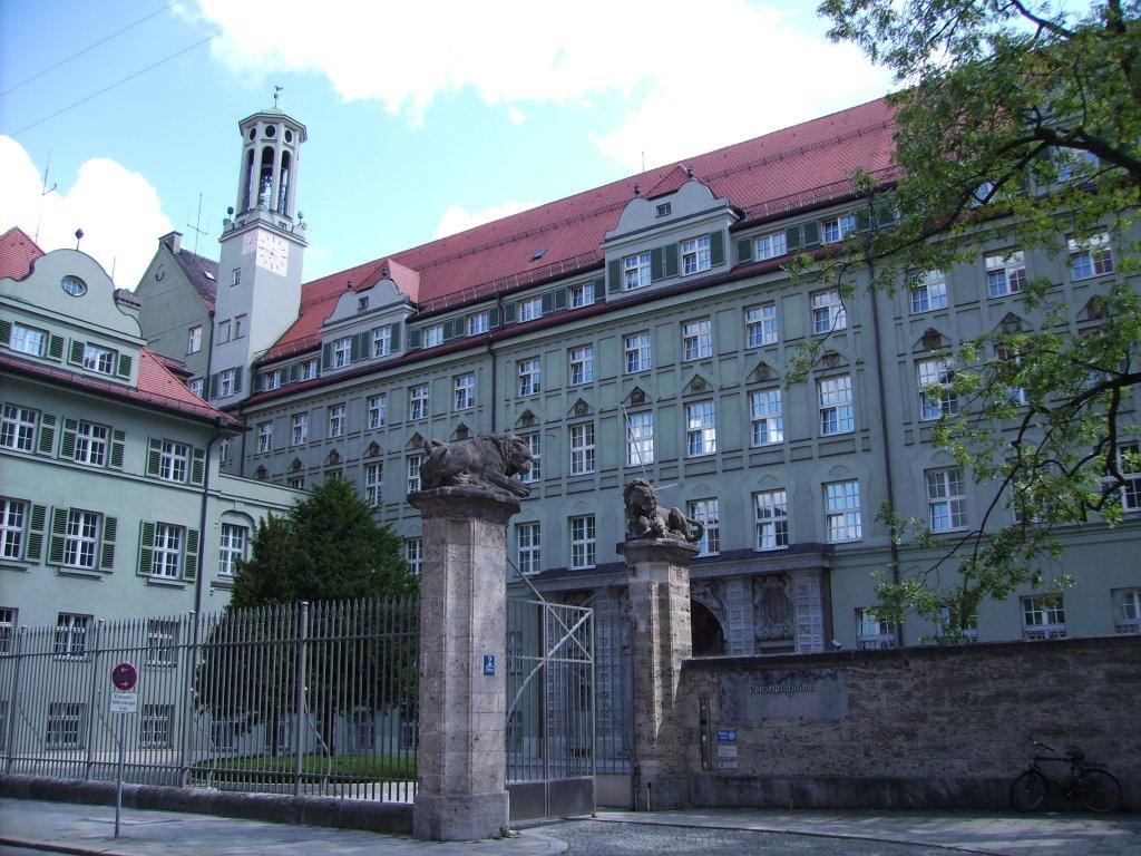 Polizeipräsidium München, Ettstraße 2