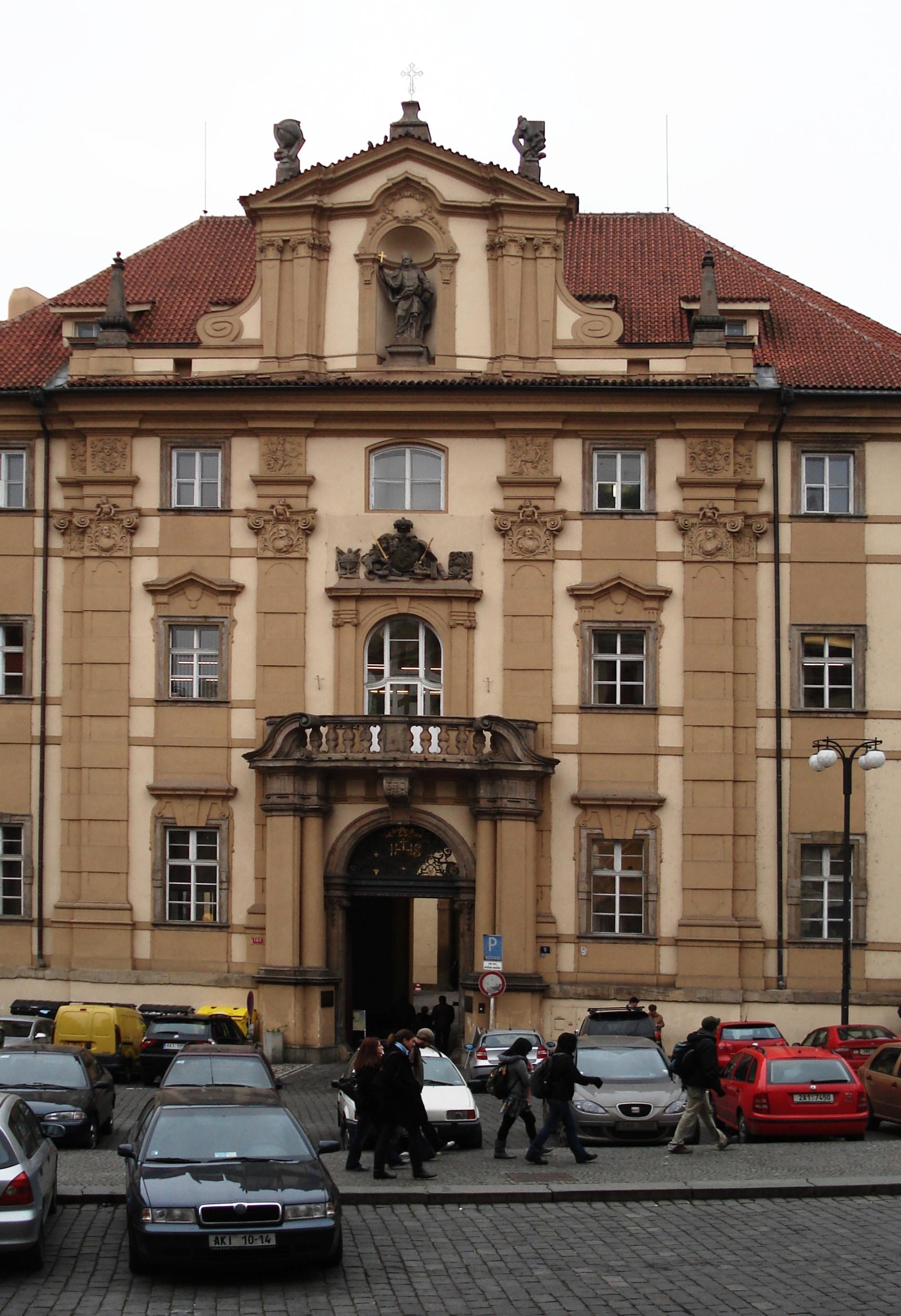 Prague clementinum entrance.jpg