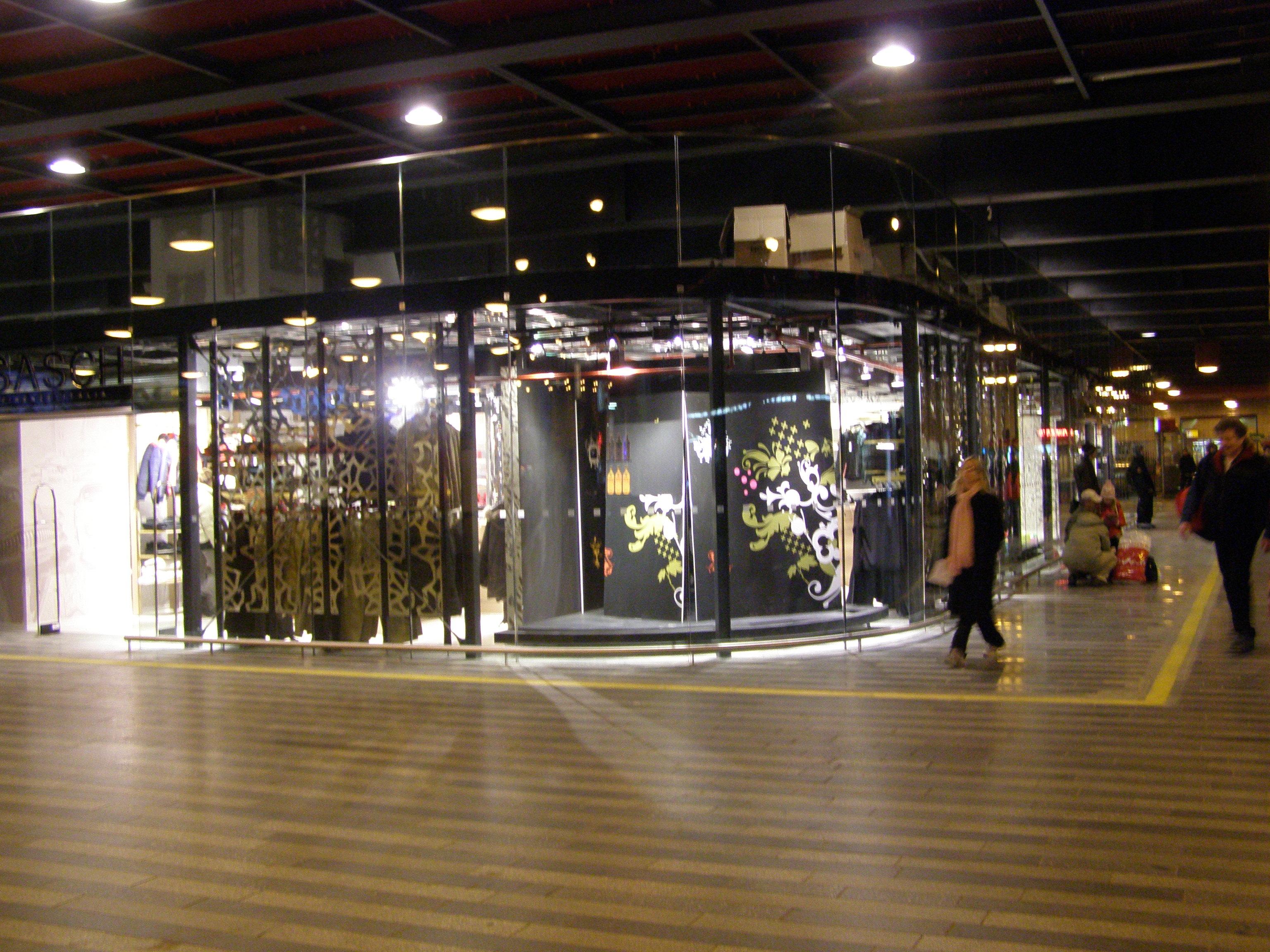 Hlavní nádraží praha obchody