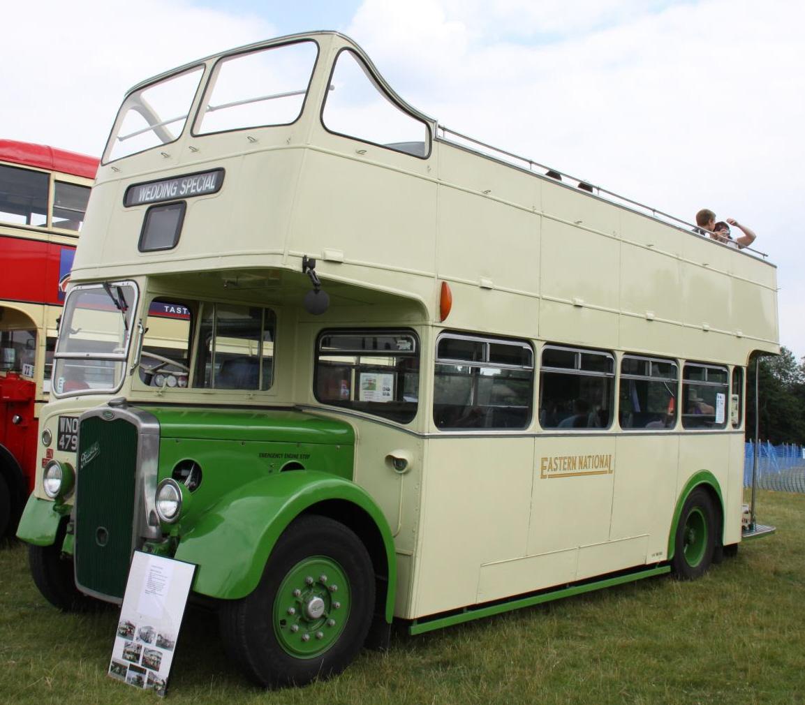 File:Preserved Eastern National bus 2383 (WNO 479) 1953 Bristol KSW ECW,