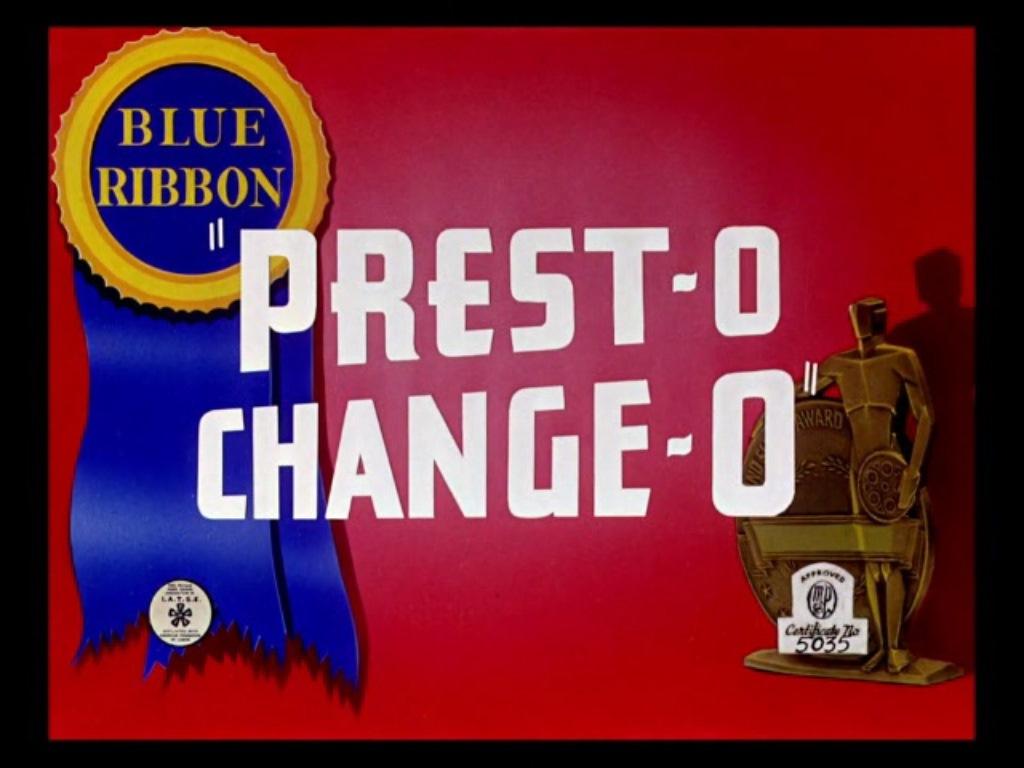 Depiction of Prest-O Change-O