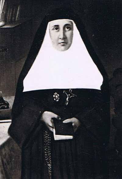 blažena Marija Rafols - devica in ustanoviteljica