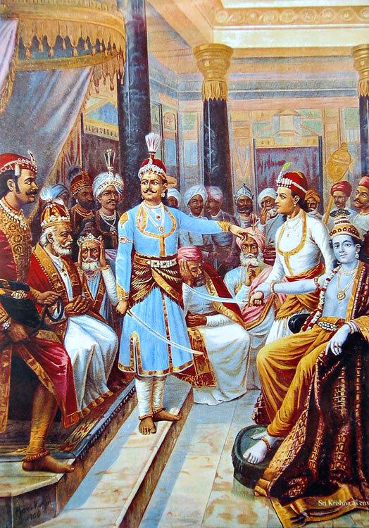 file raja ravi varma sri krishna as envoy jpg wikimedia commons