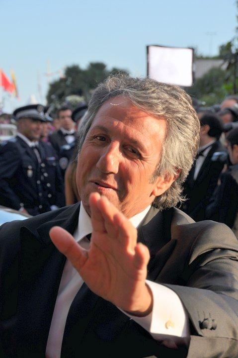 Richard Anconina au festival de Cannes