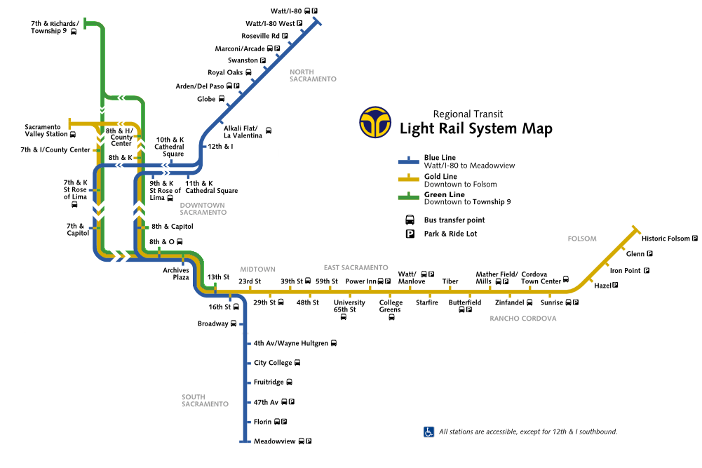 Light Rail Seattle Map Stops.File Sacramento Rt Light Rail Map Png Wikimedia Commons