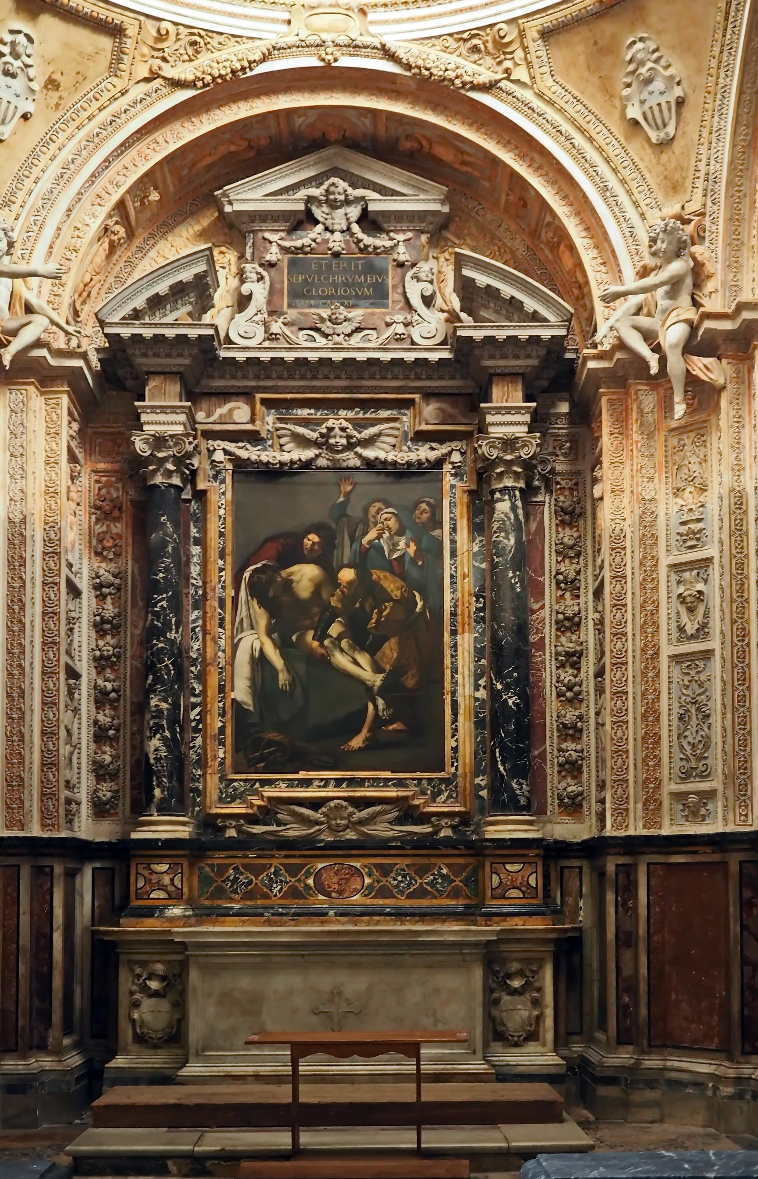 datei san pietro in montorio cappella della piet jpg wikipedia. Black Bedroom Furniture Sets. Home Design Ideas