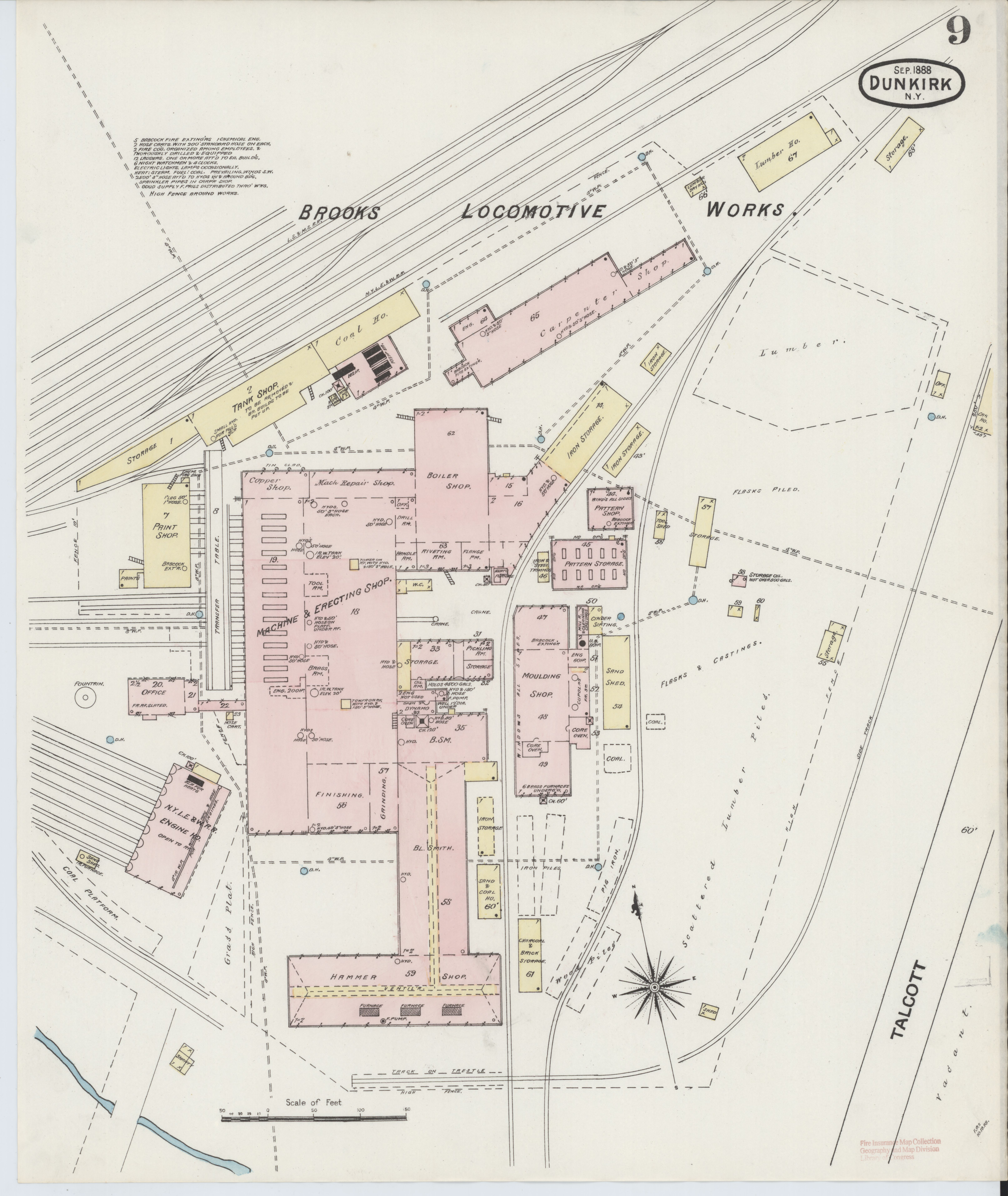 File:Sanborn Fire Insurance Map from Dunkirk, Chautauqua County, New on