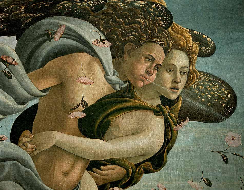 the beginning of venus botticelli