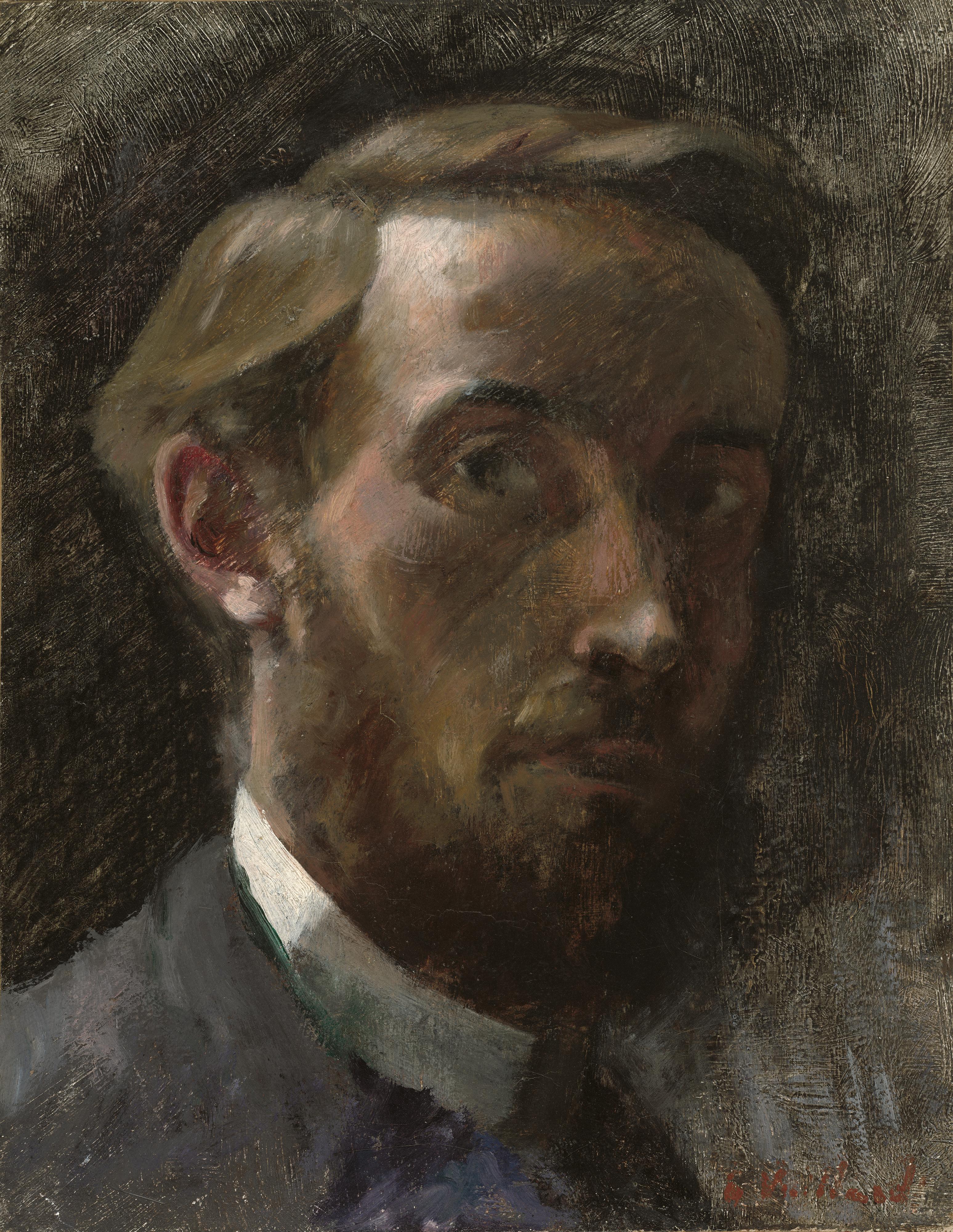 Édouard Vuillard, Self-Portrait Aged 21