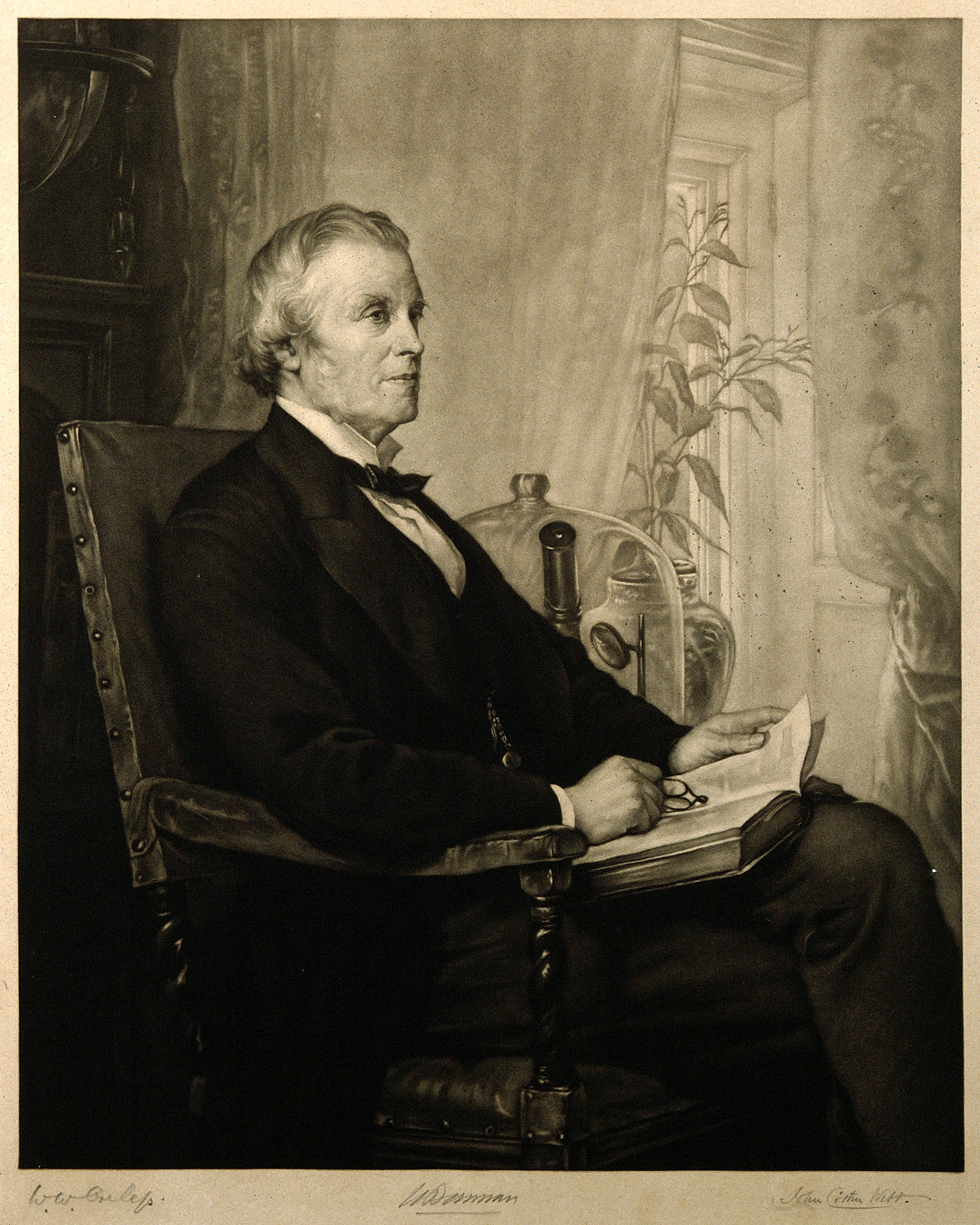File:Sir William Bowman. Mezzotint by J. C. Webb after W. W. Oule Wellcome  V0006456.