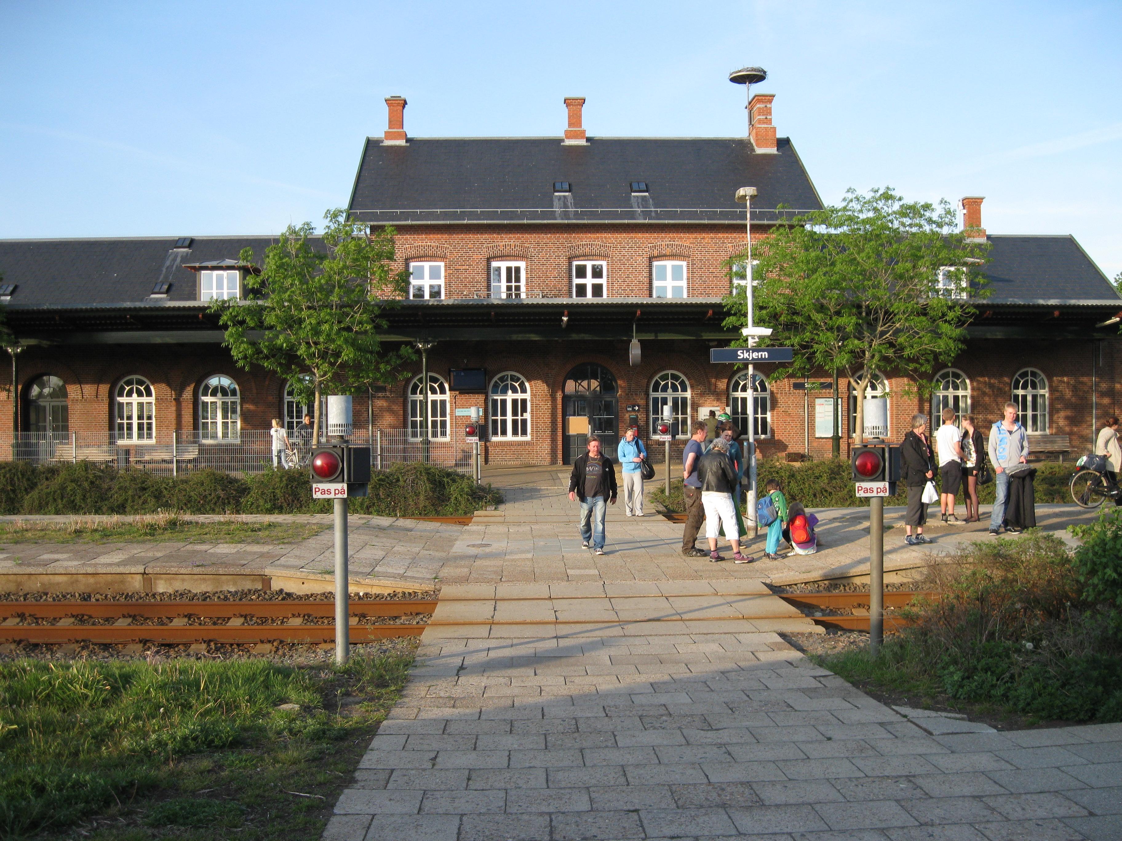 skanderborg station kiosk