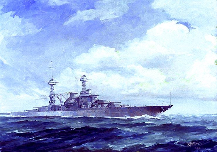 South Dakota class battleship;H63502k.jpg