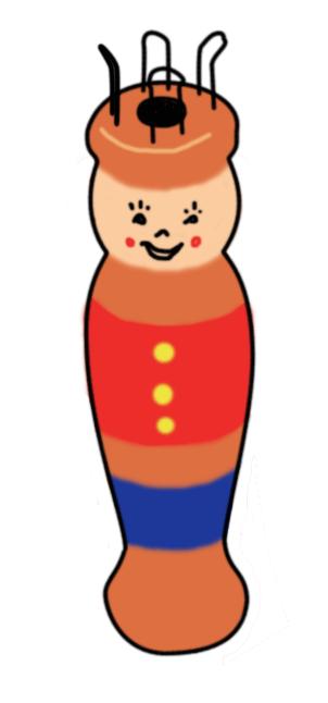Partie supérieure du tricotin