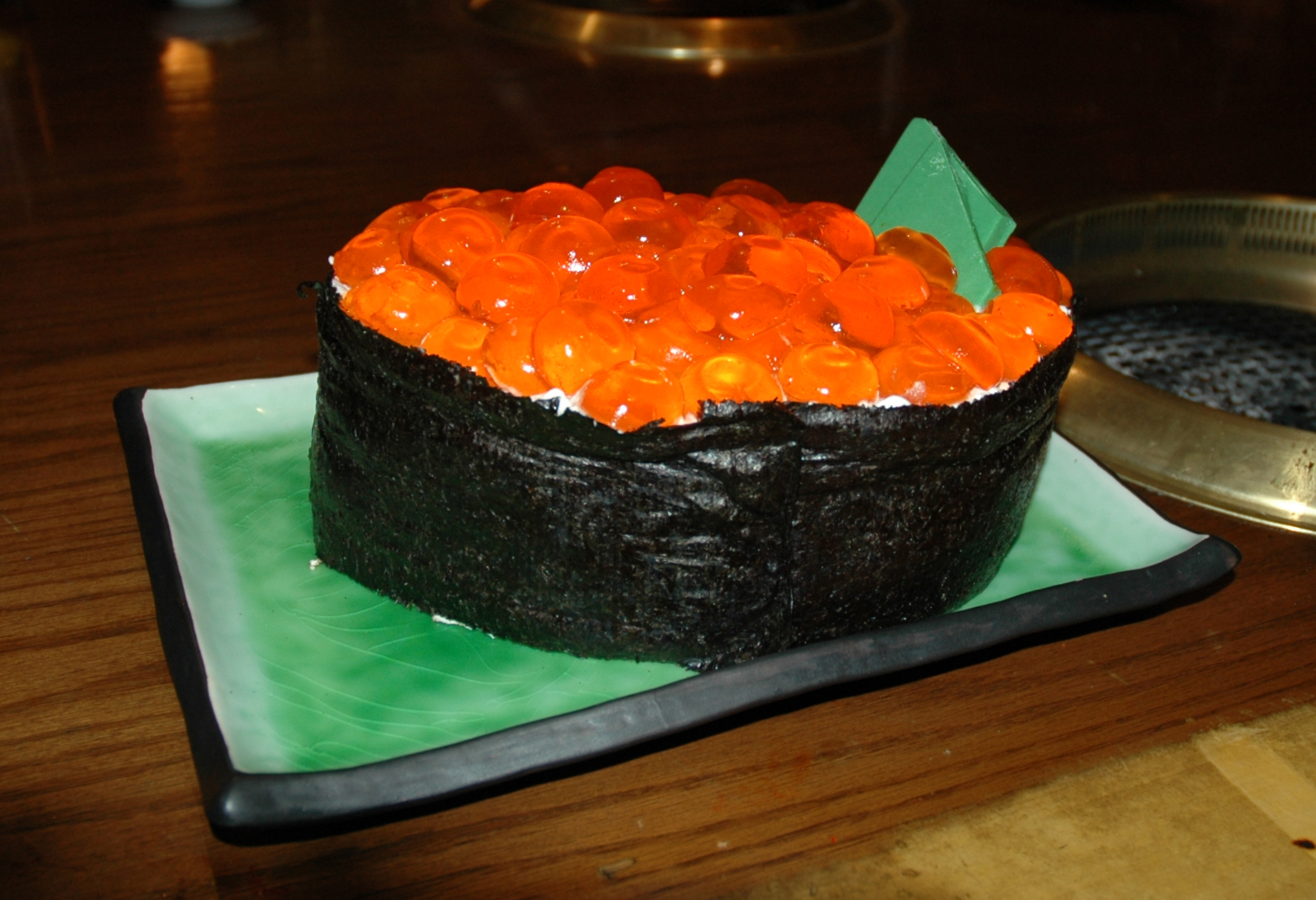 Sushi Cake Recipe Dishmaps