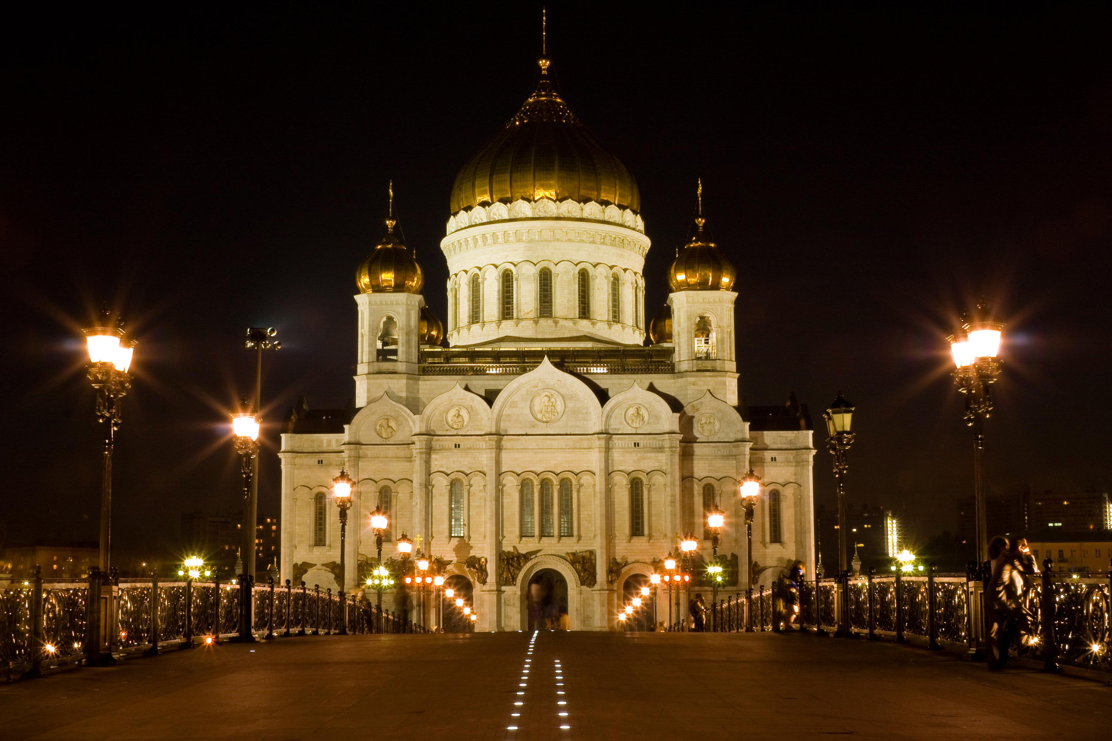 фото москва храм христа спасителя