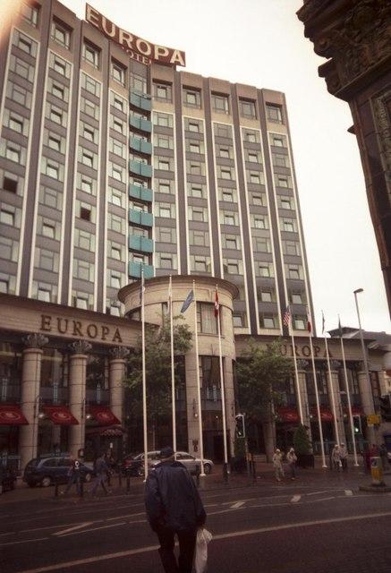 Europa Hotel Belfast Wikipedia