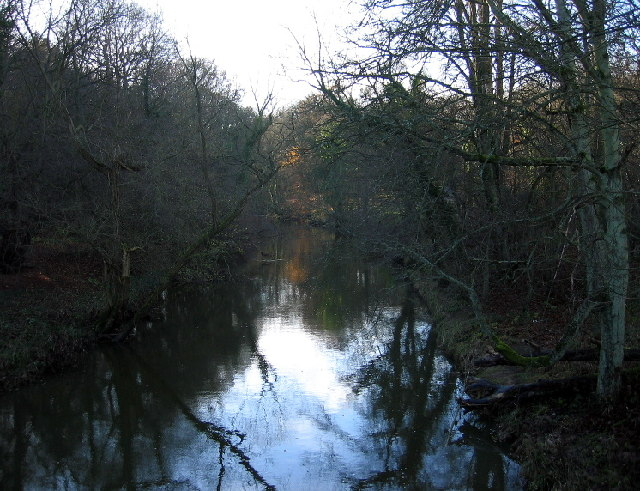 The River Blyth from Hartford Bridge - geograph.org.uk - 91722