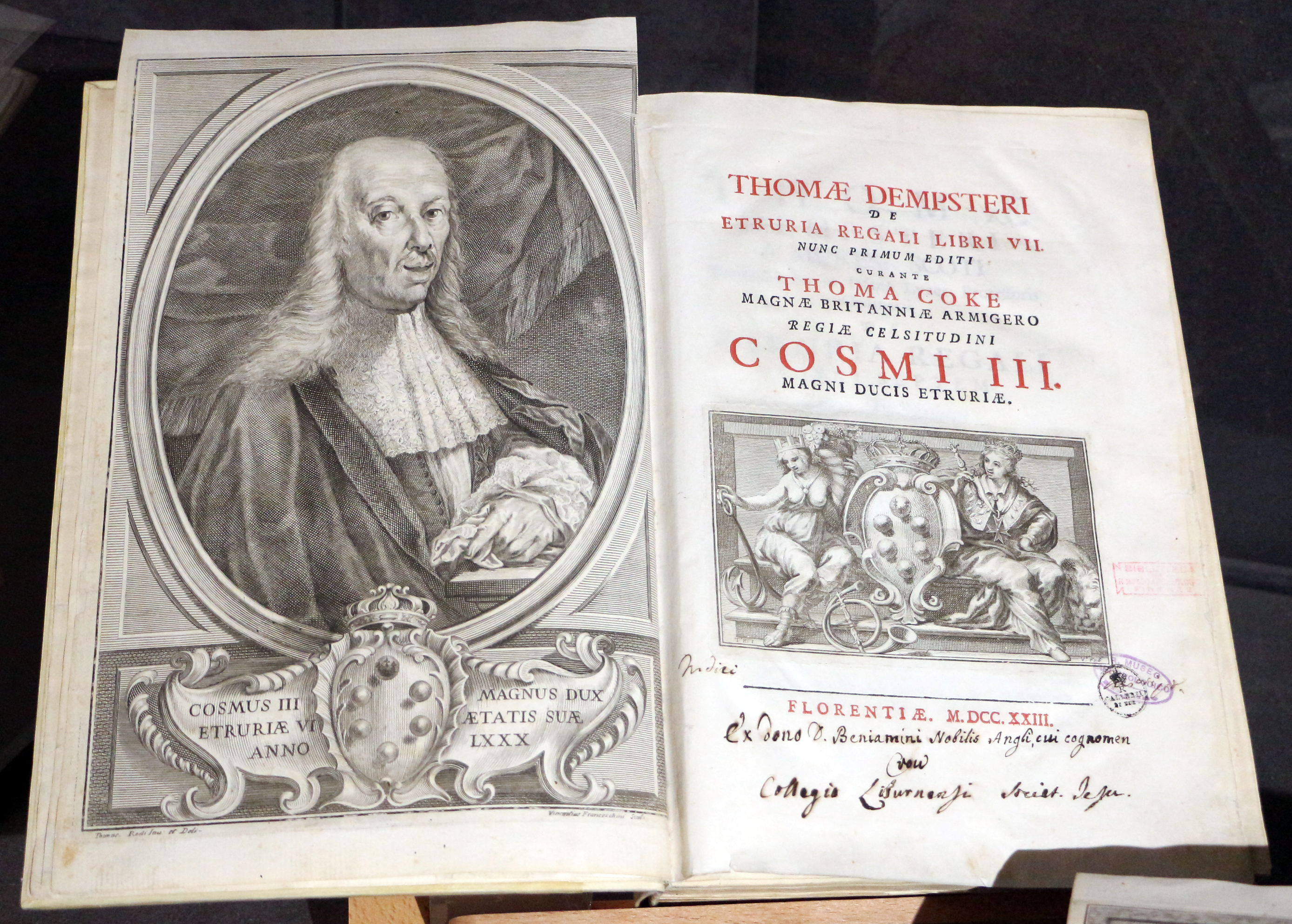 ''De Etruria Regali'', Florence 1720-26 (written 1616-19)
