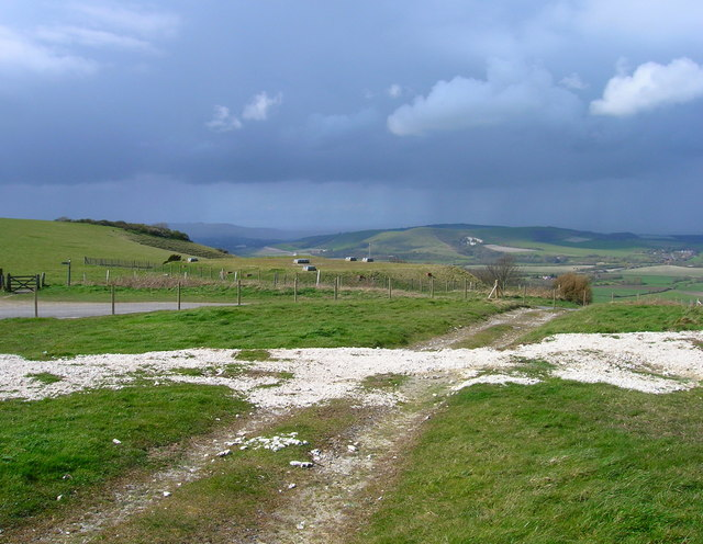 Top of Firle Bostal - geograph.org.uk - 763007