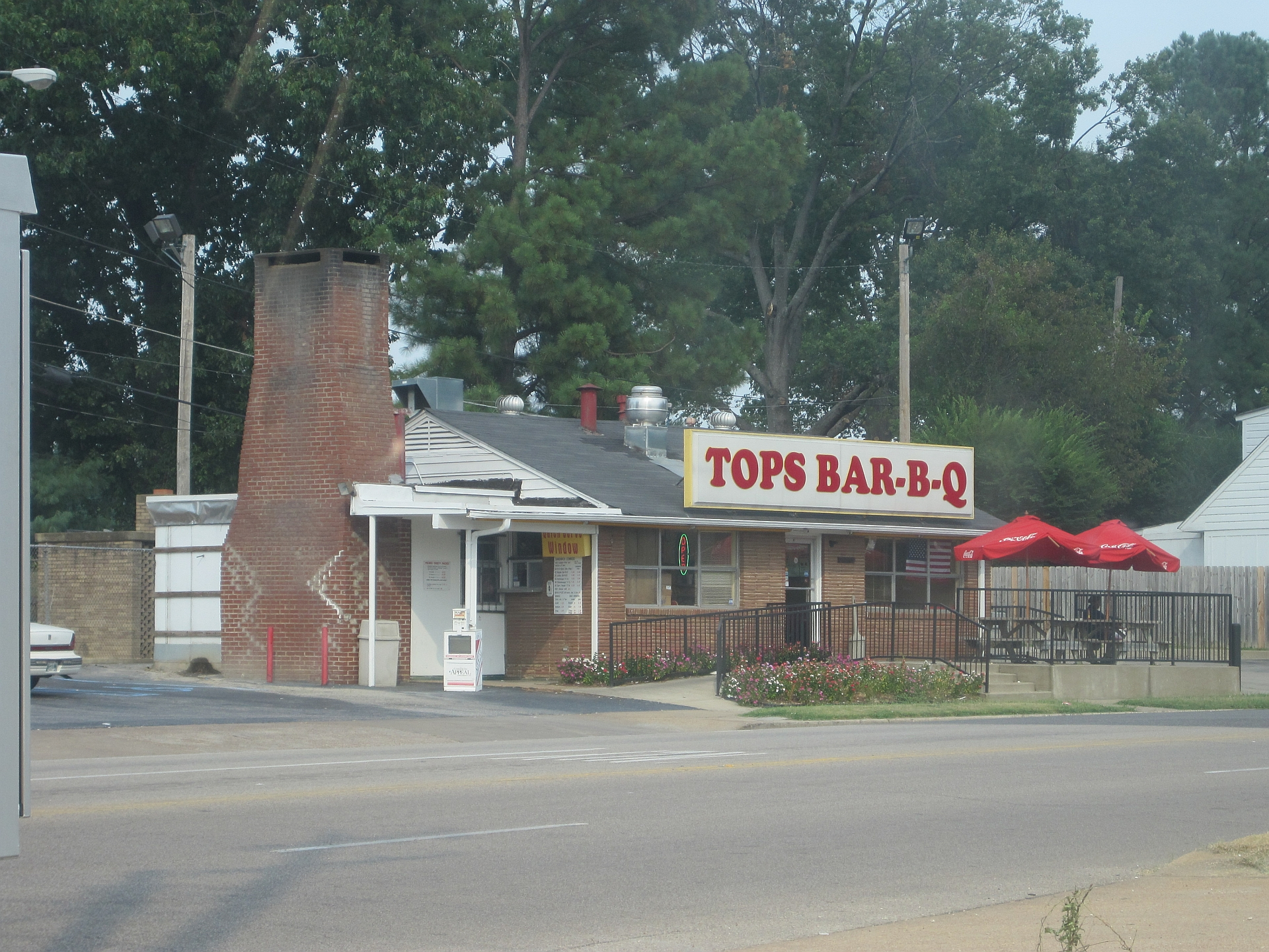 Tops Bar B Que File Tops Barbq Restaurant Getwell Rd Memphis Tn 02 Jpg