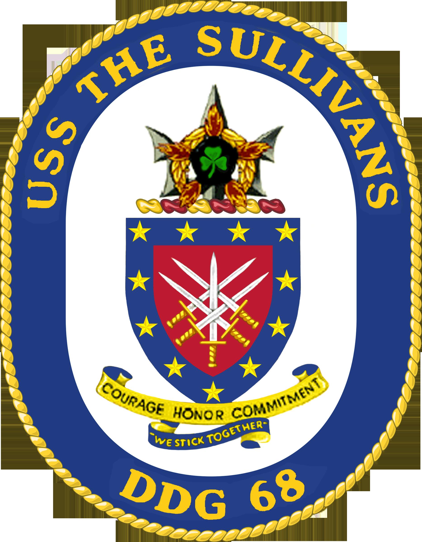 USS The Sullivans crest.png