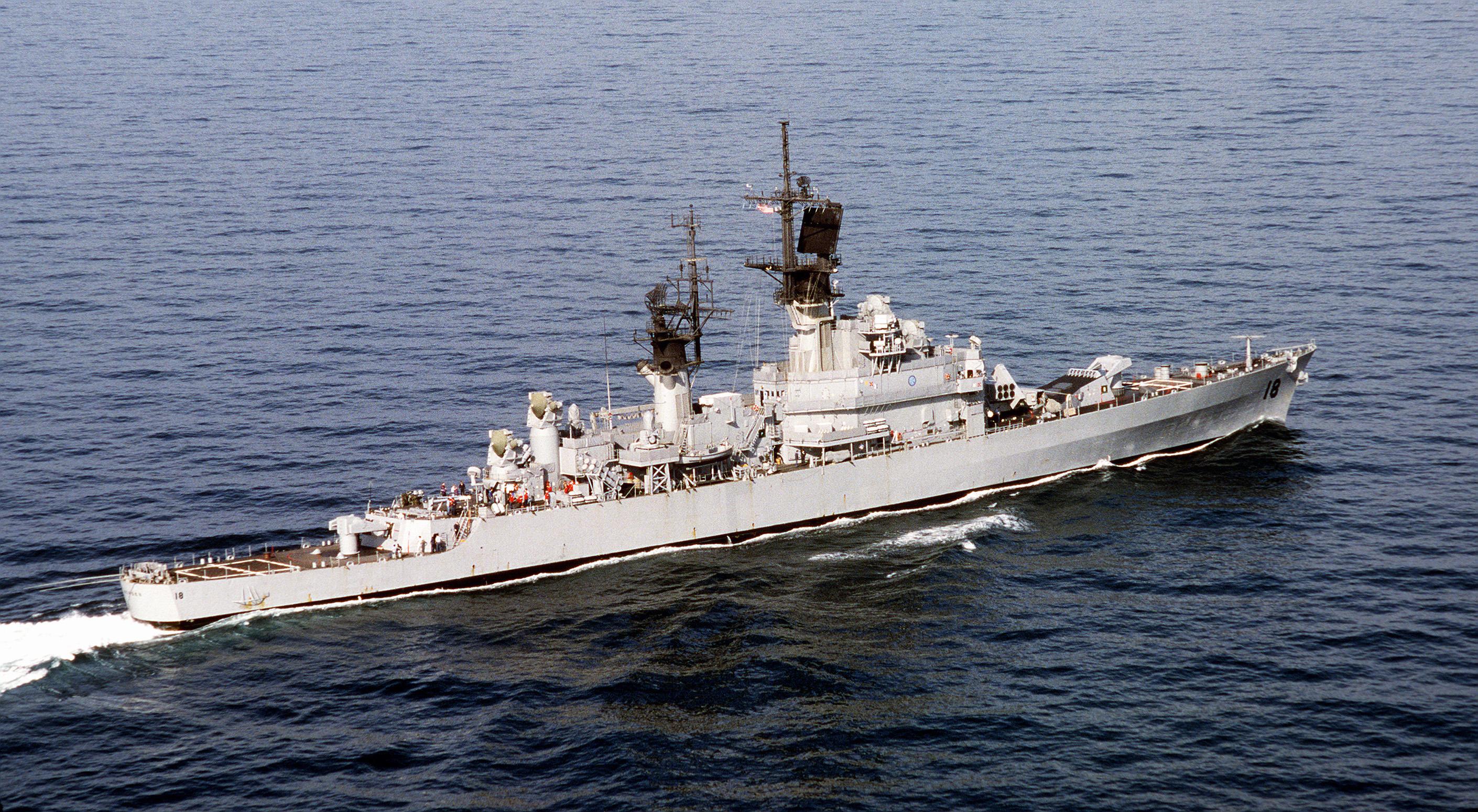 USS HALSEY DLG 23 Naval Ship Photo Print USN Navy