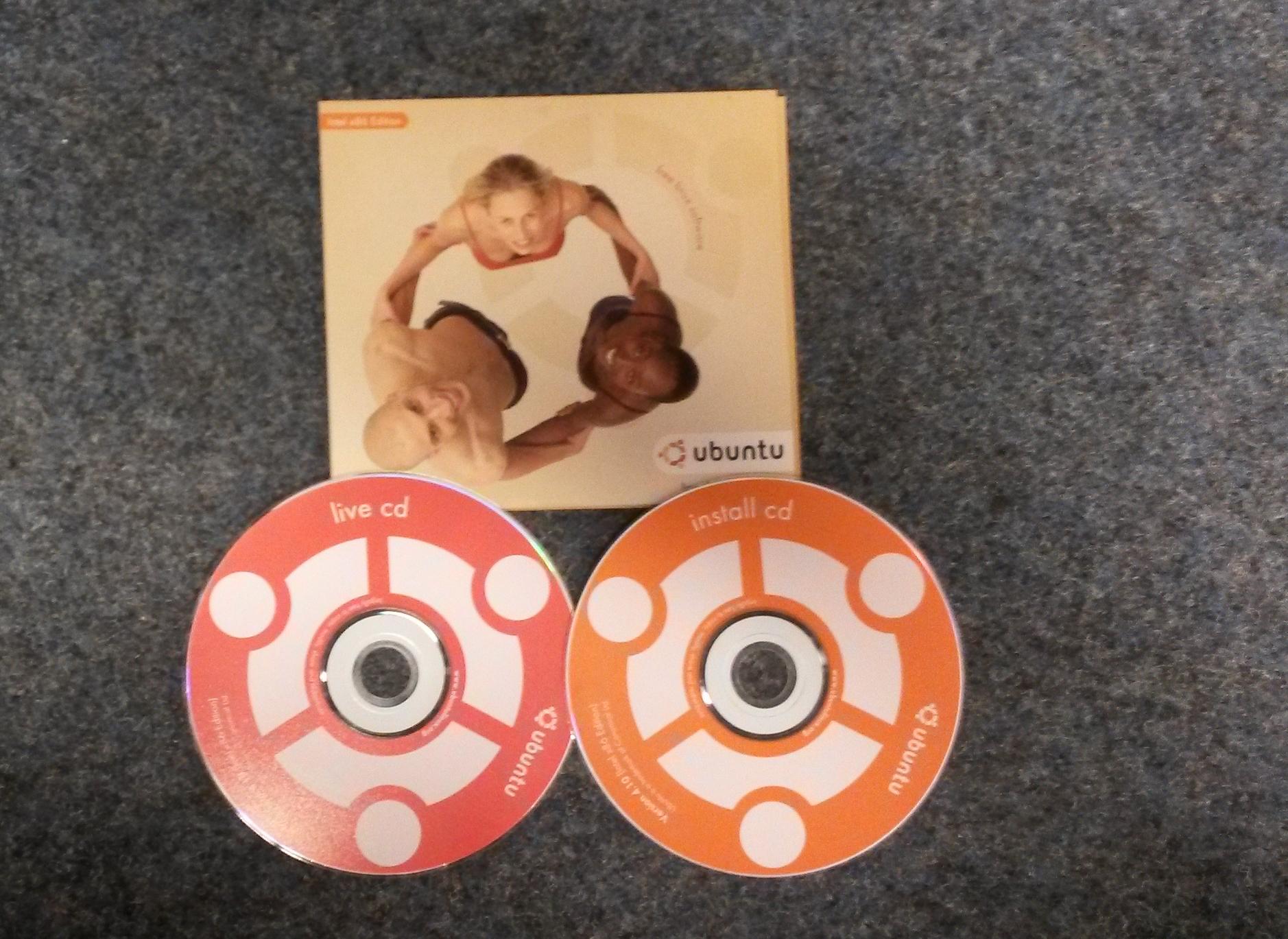 Penampakan CD cuma-cuma dari Canonical, Ubuntu 4.10