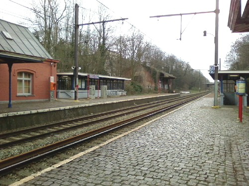 Uccle-Stalle railway station