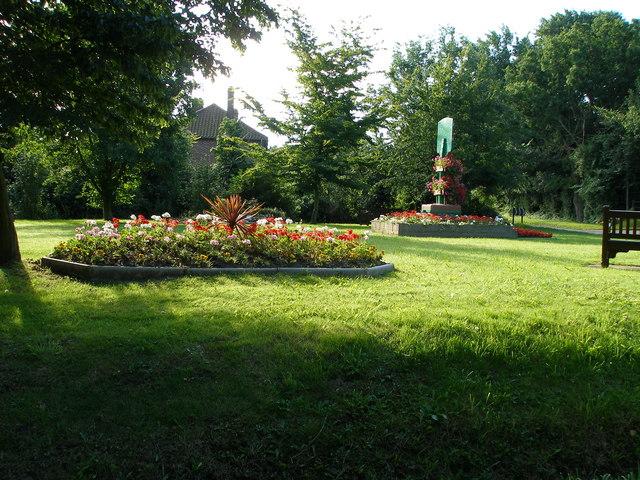 file village garden area
