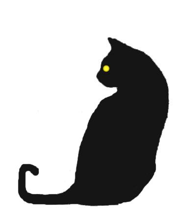 Cat Silhouette Eyes
