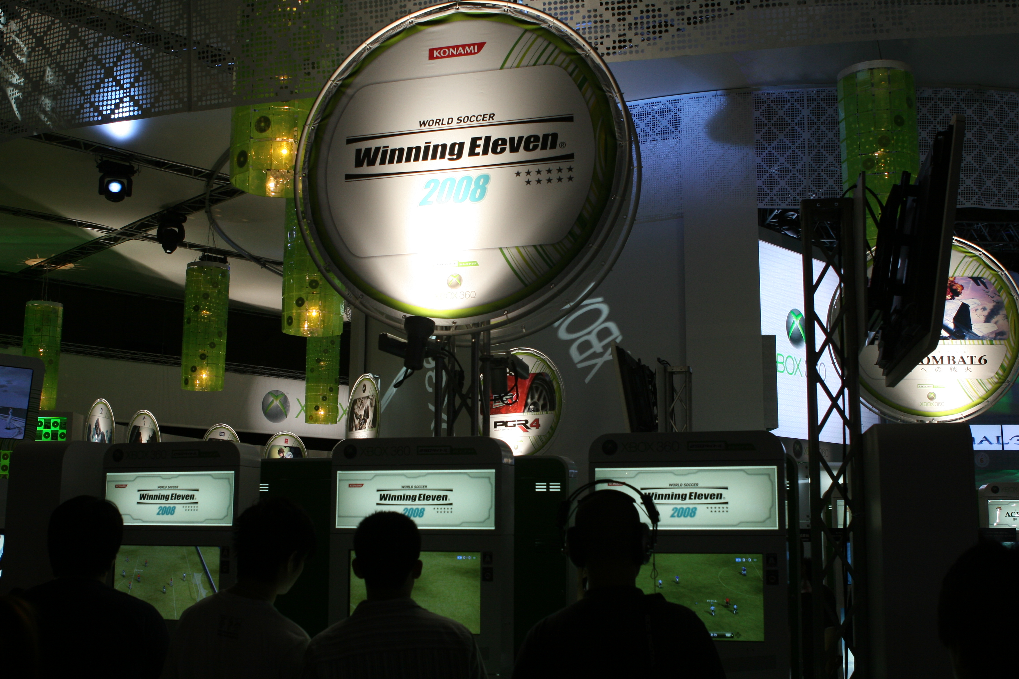 File:Winning Eleven 2008 on Xbox 360 promo, Tokyo Game Show