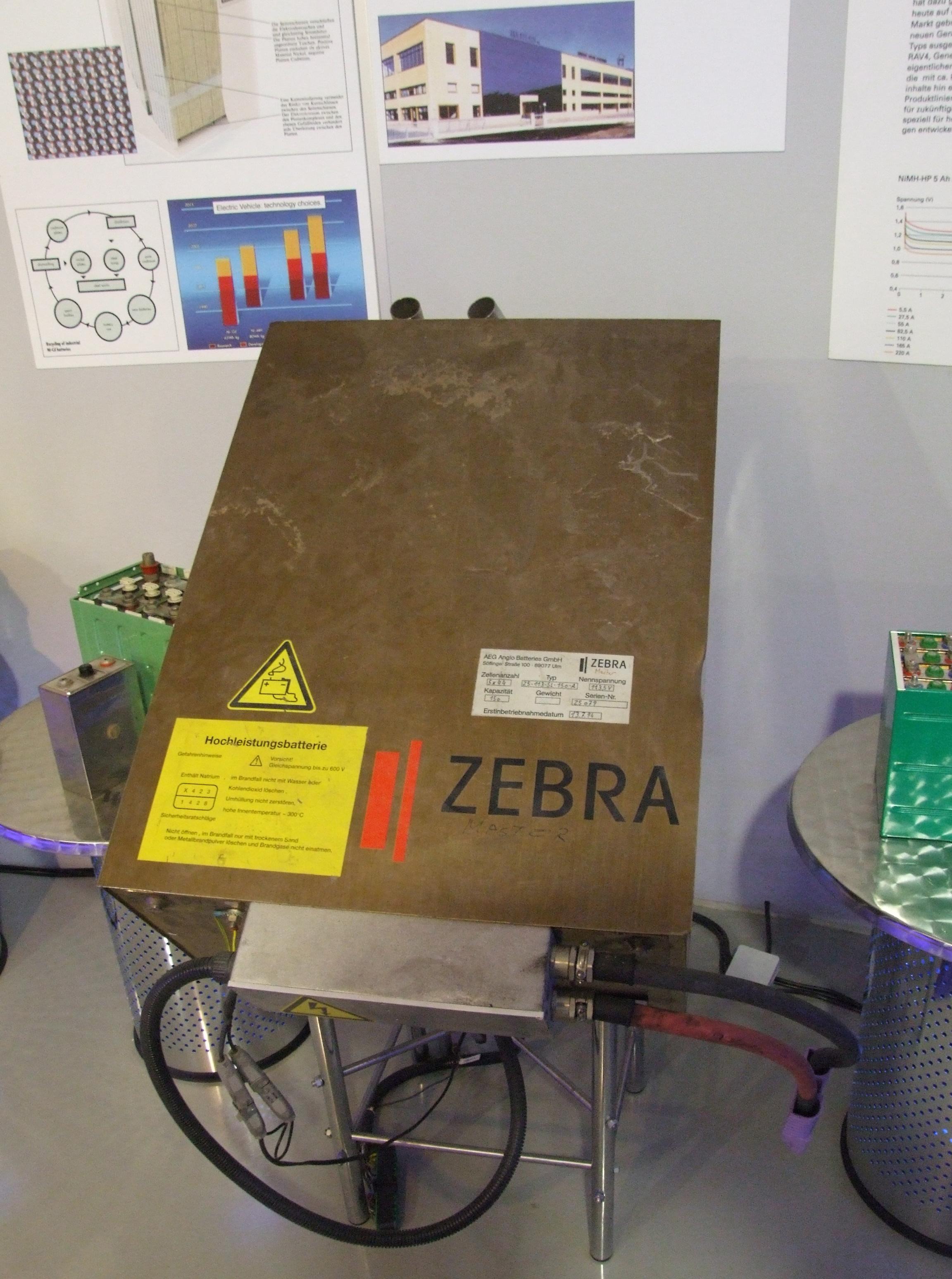 Molten Salt Battery : File zebra batterie natrium nickelchlorid g