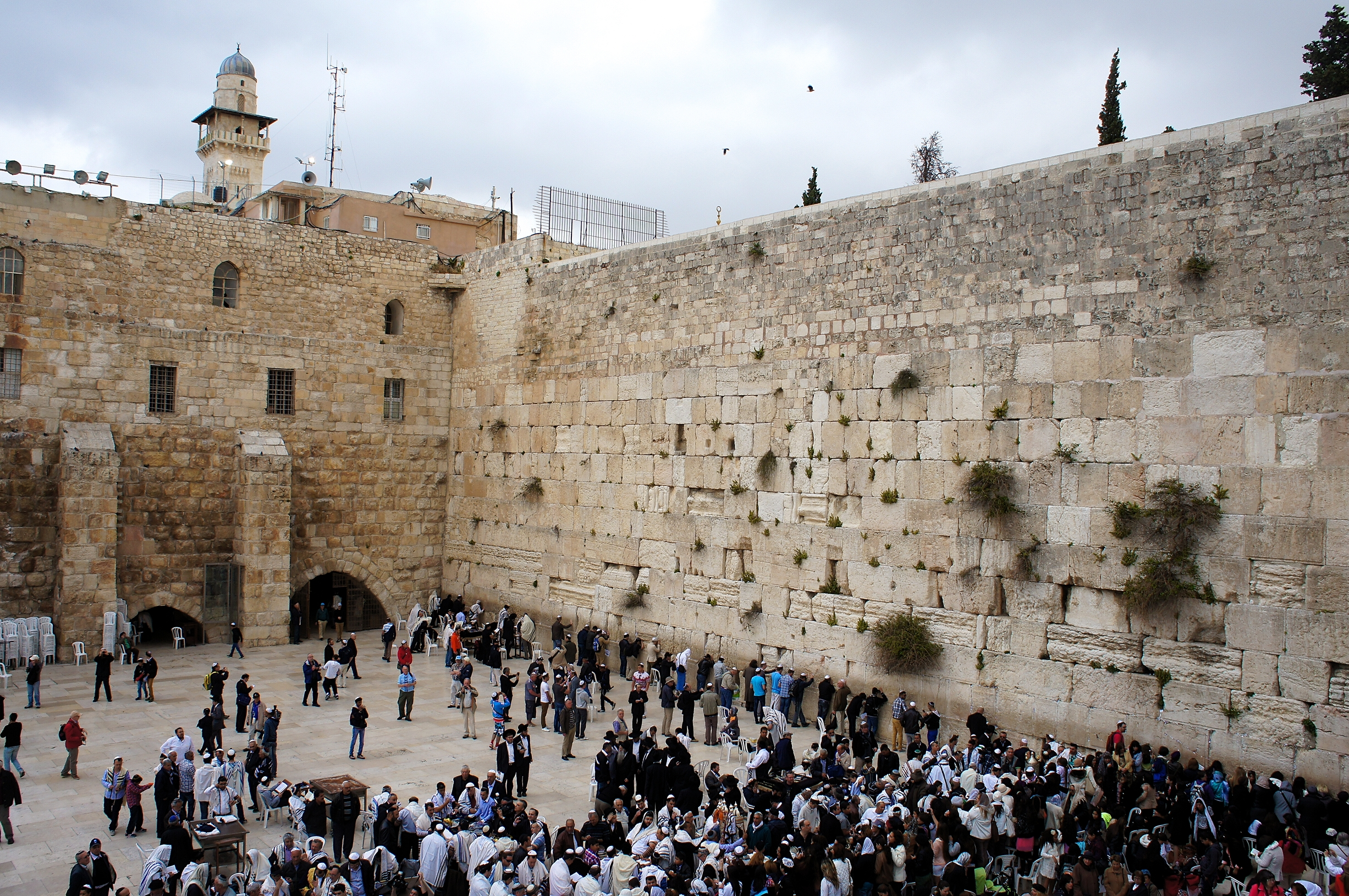 Jeruzalém zeď nářků