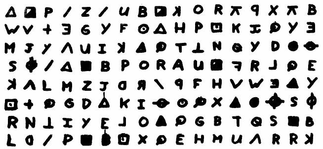 Zodia Killer Symbols