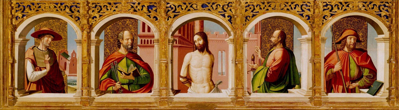Depiction of Cristo en la columna