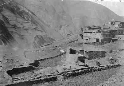 Вид аула Хуландой Шароевского округа 1926 год.jpg