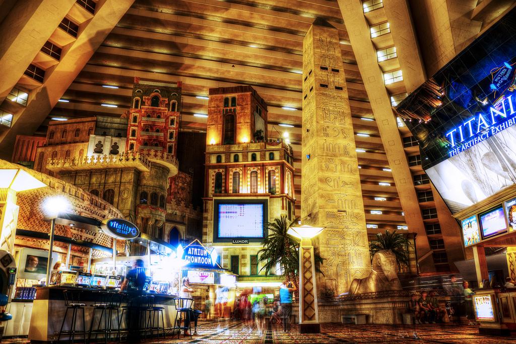 Luxor Hotel  Las Vegas Blvd