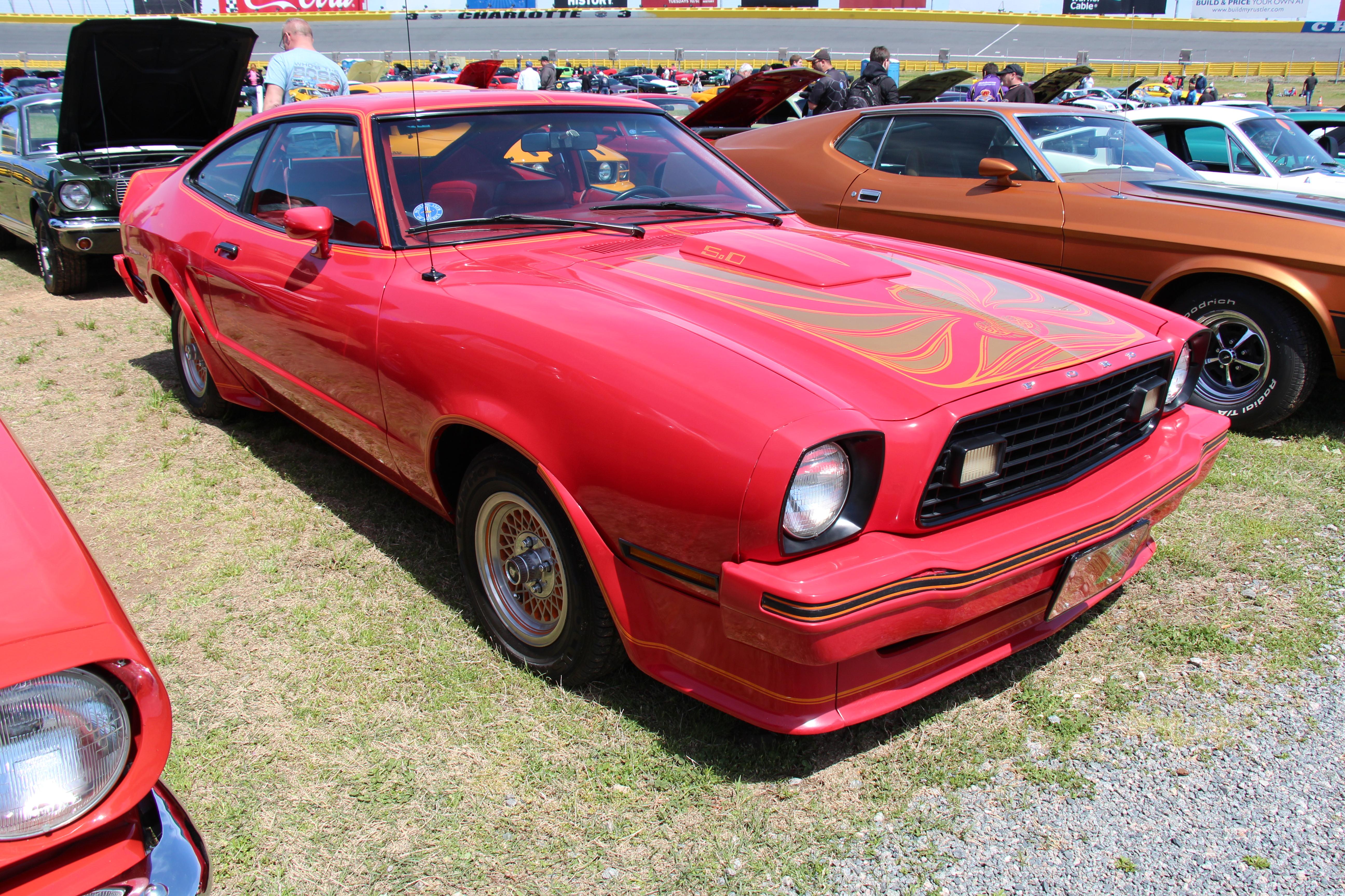 1978 Mustang King Cobra Specs