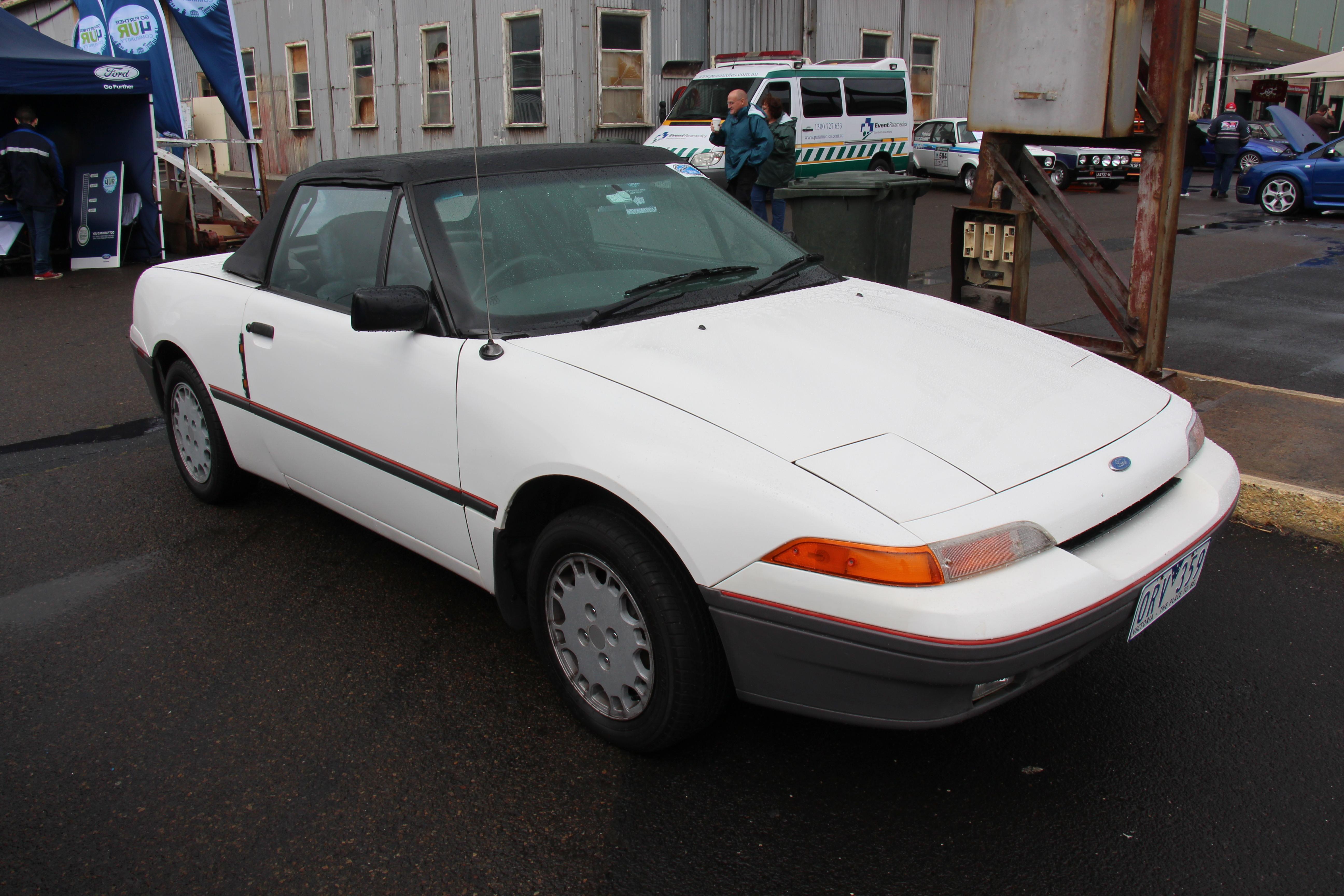 File 1990 Ford Capri Sa Convertible 16252822500 Jpg Wikimedia Commons