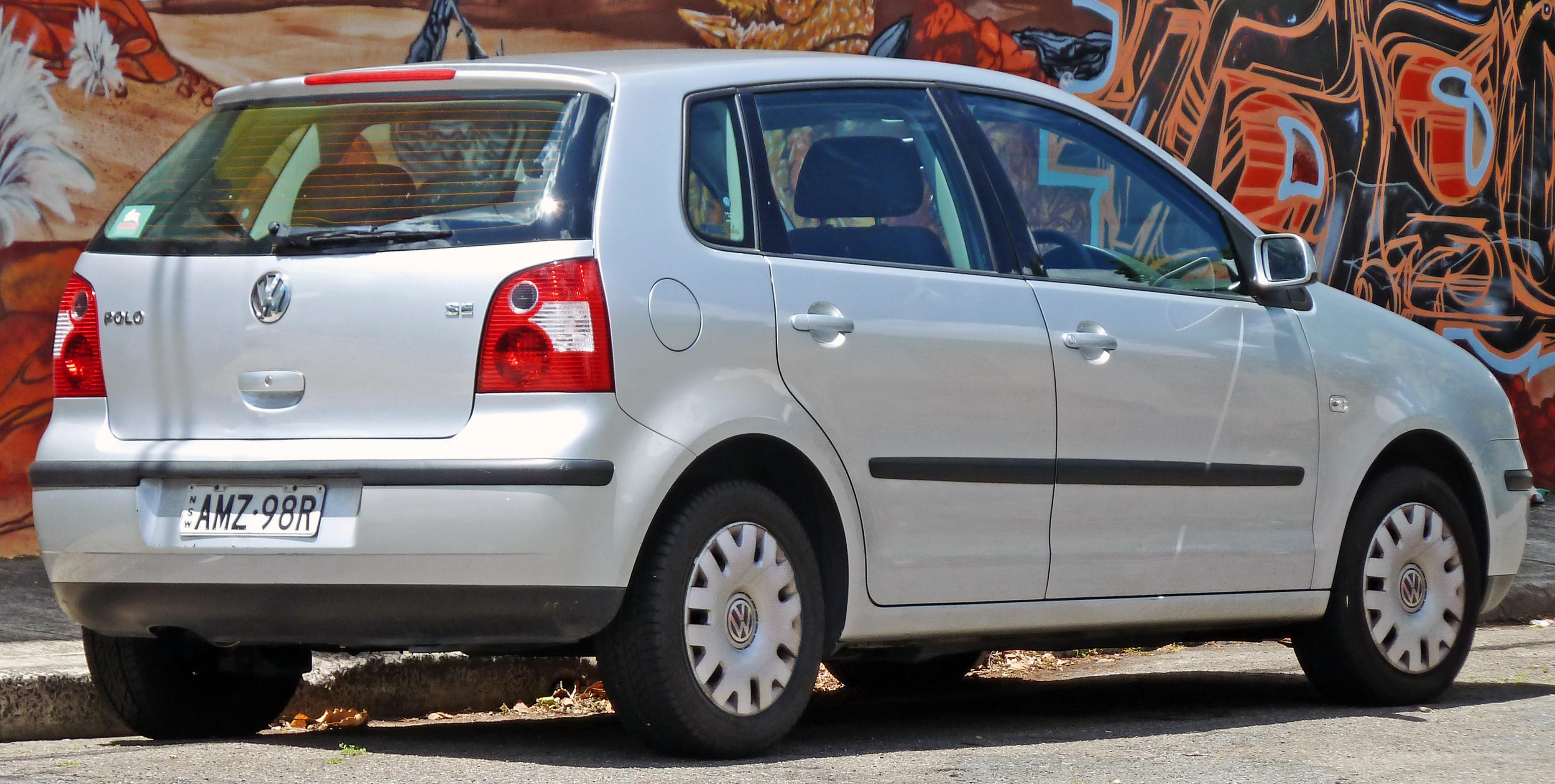 File 2002 2003 Volkswagen Polo 9n Se 5 Door Hatchback 01 Jpg