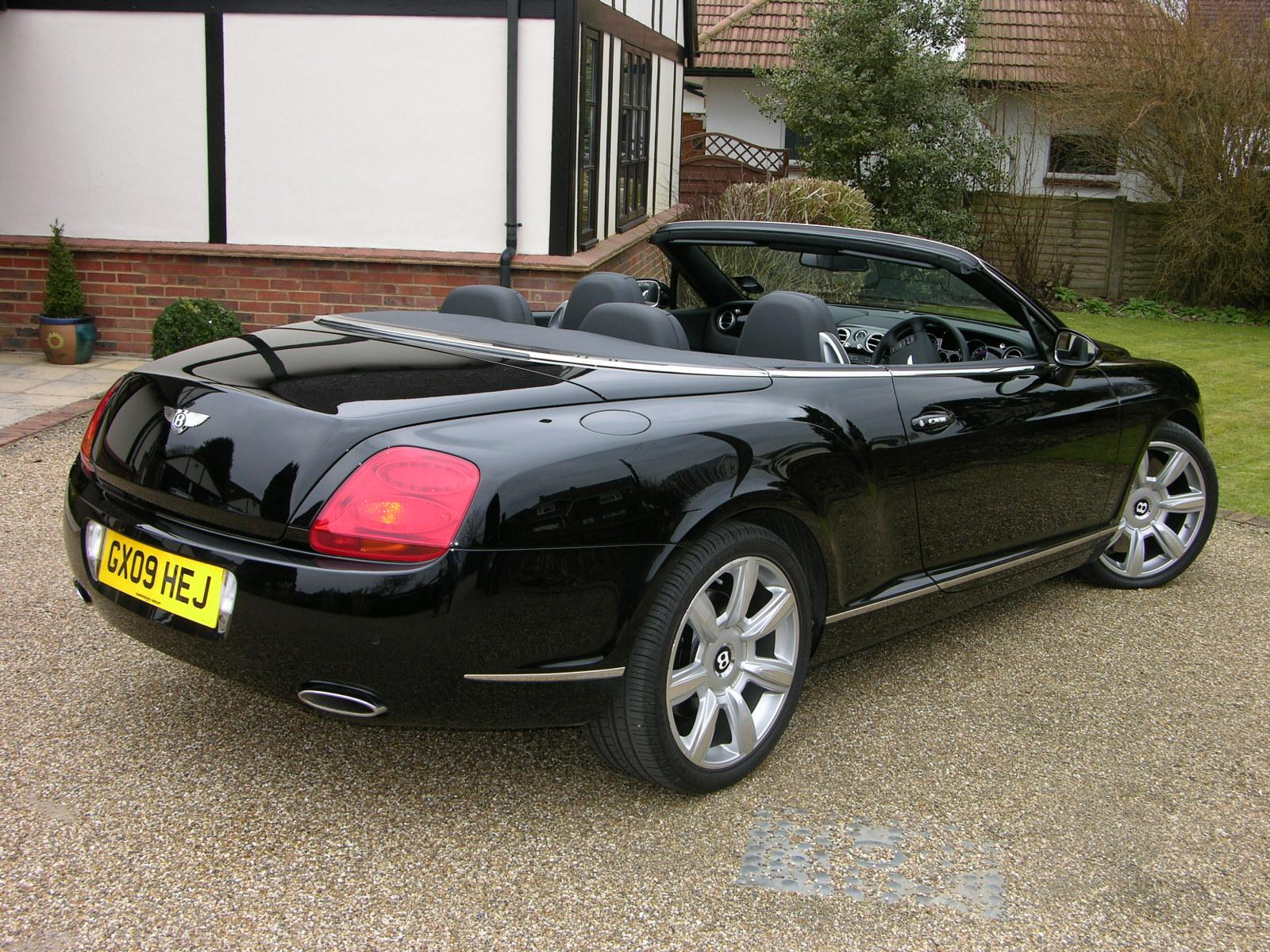 2009 bentley continental gtc related infomation specifications weili automotive network. Black Bedroom Furniture Sets. Home Design Ideas