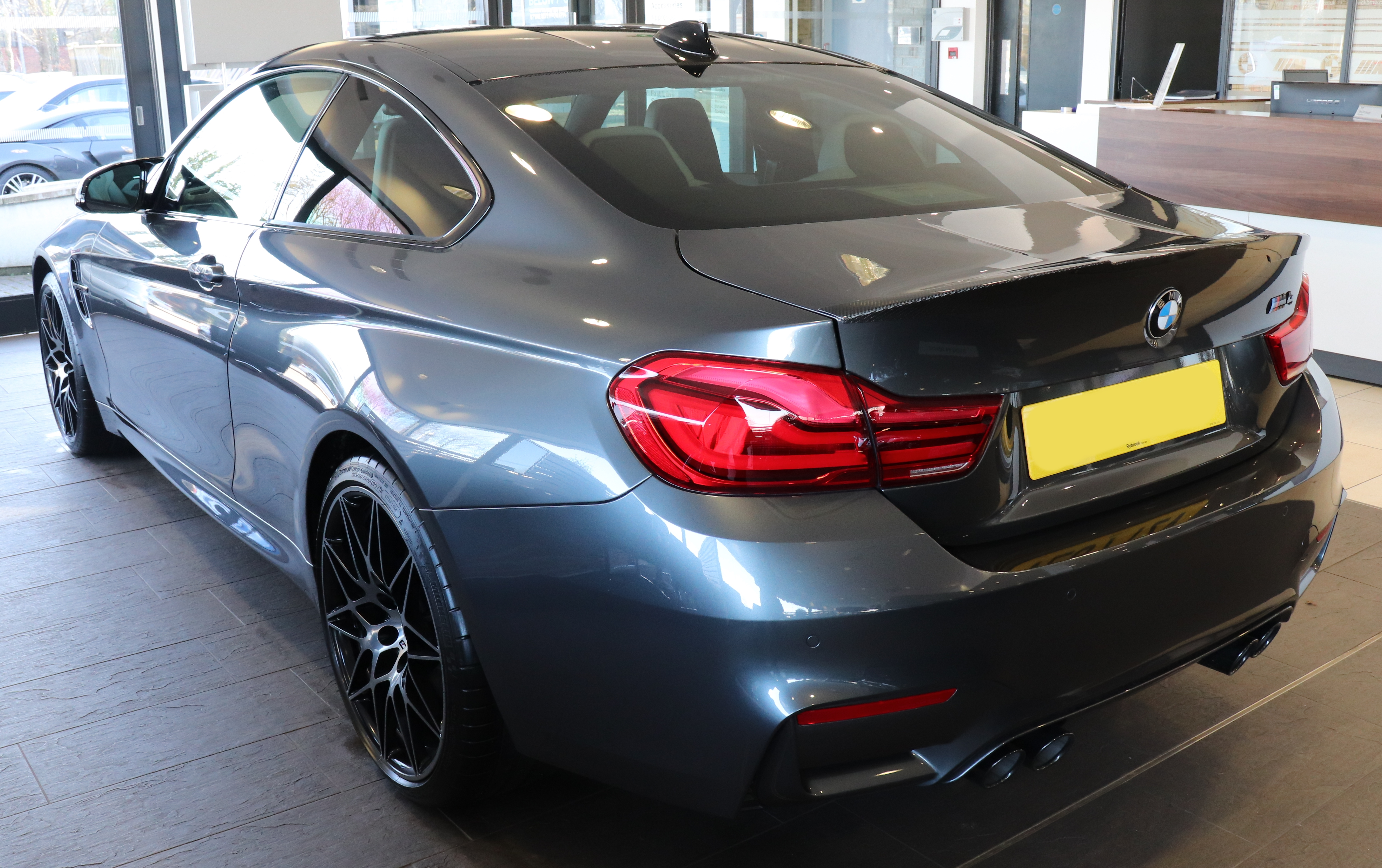 M4 Competition Package >> File 2017 Bmw M4 Competition Package S A 3 0 Rear Jpg