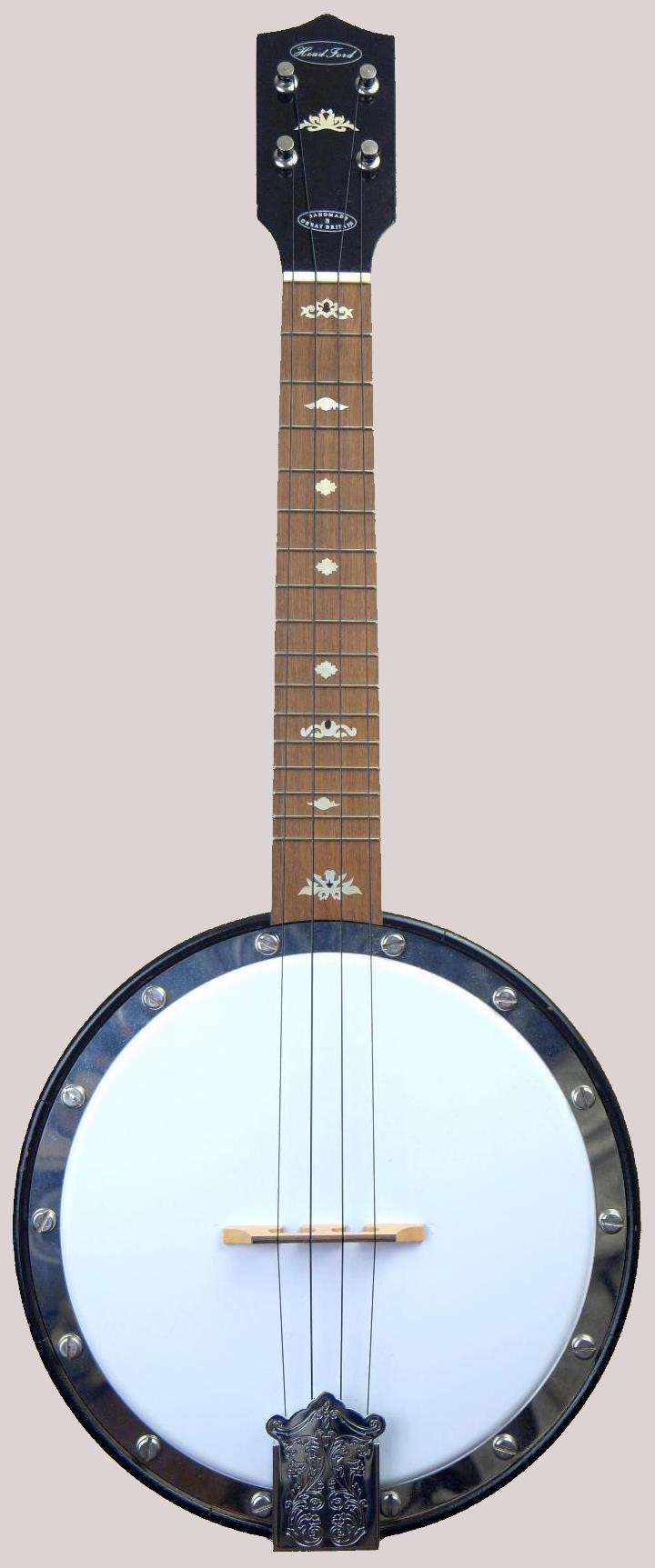 Robert HeadFord bracketless Concert Banjolele