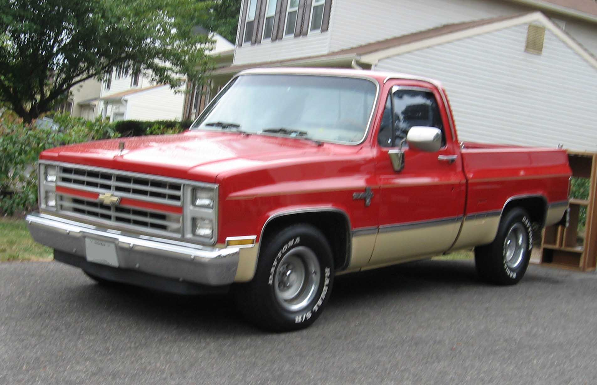 Chevrolet C K Third Generation Wikipedia