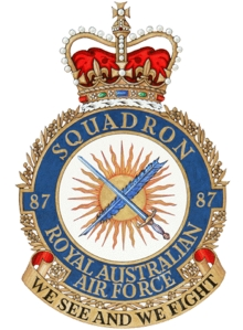 No. 87 Squadron RAAF Royal Australian Air Force squadron