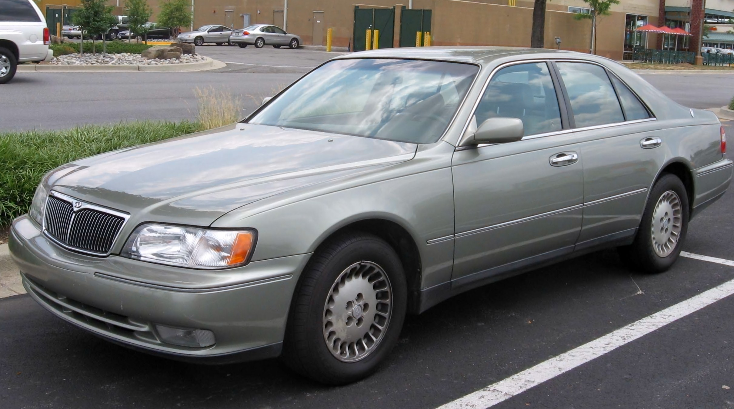 File 97 98 Infiniti Q45 Jpg Wikimedia Commons