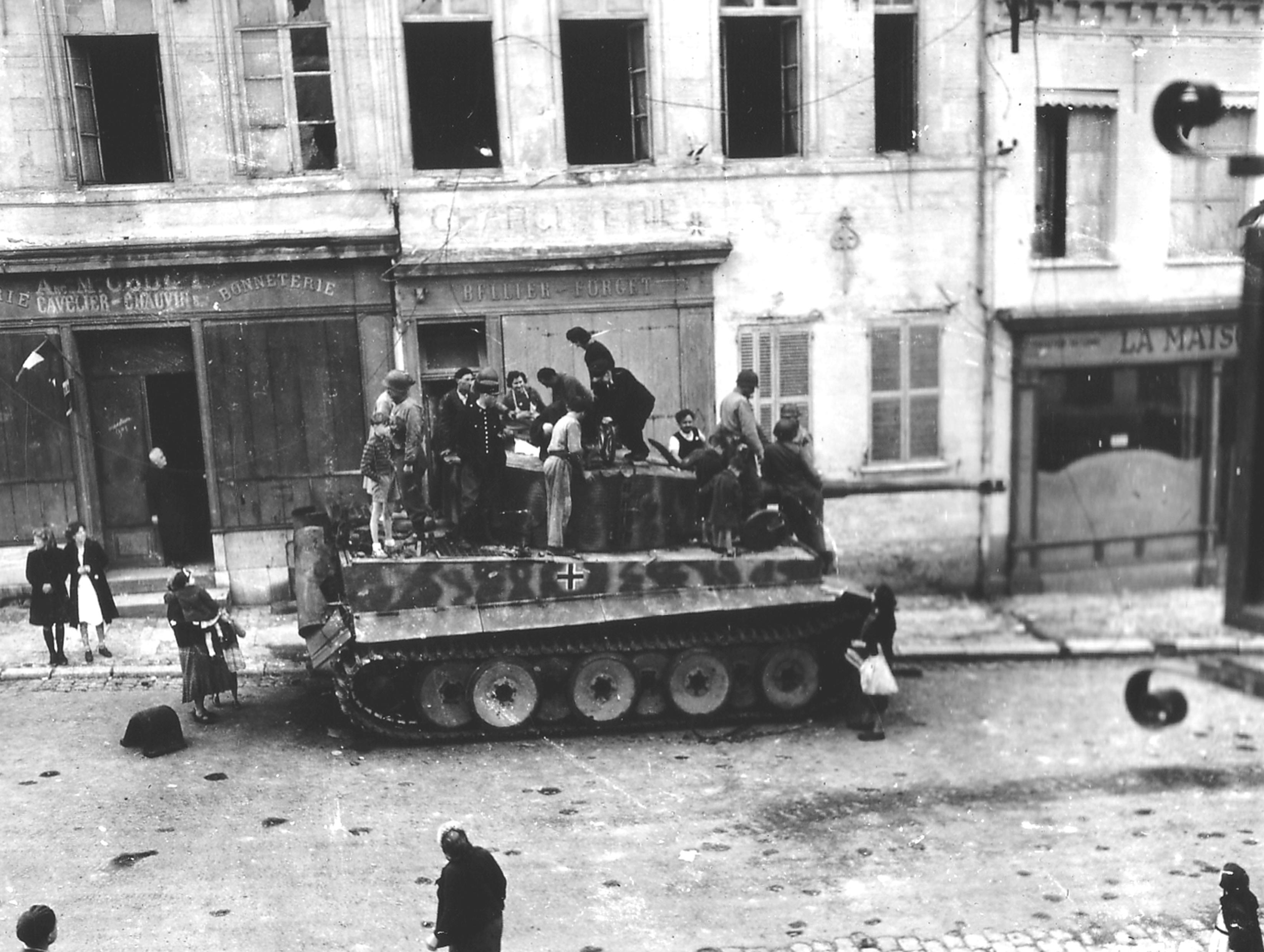 Tiger I of schwere SS-Panzer-Abteilung 101