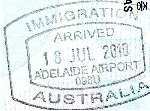 File Adelaide Airport Arrived Stamp Png Wikimedia Commons