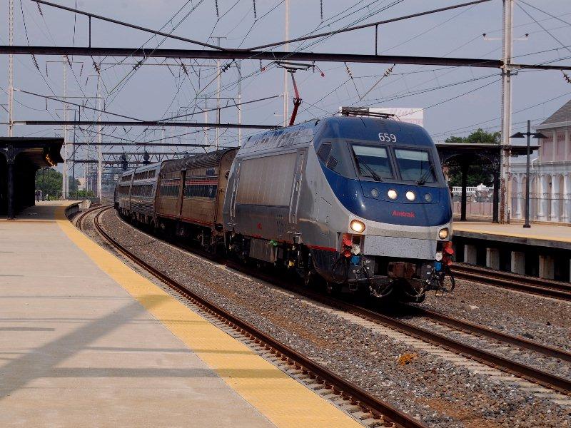 Amtrak Train 19